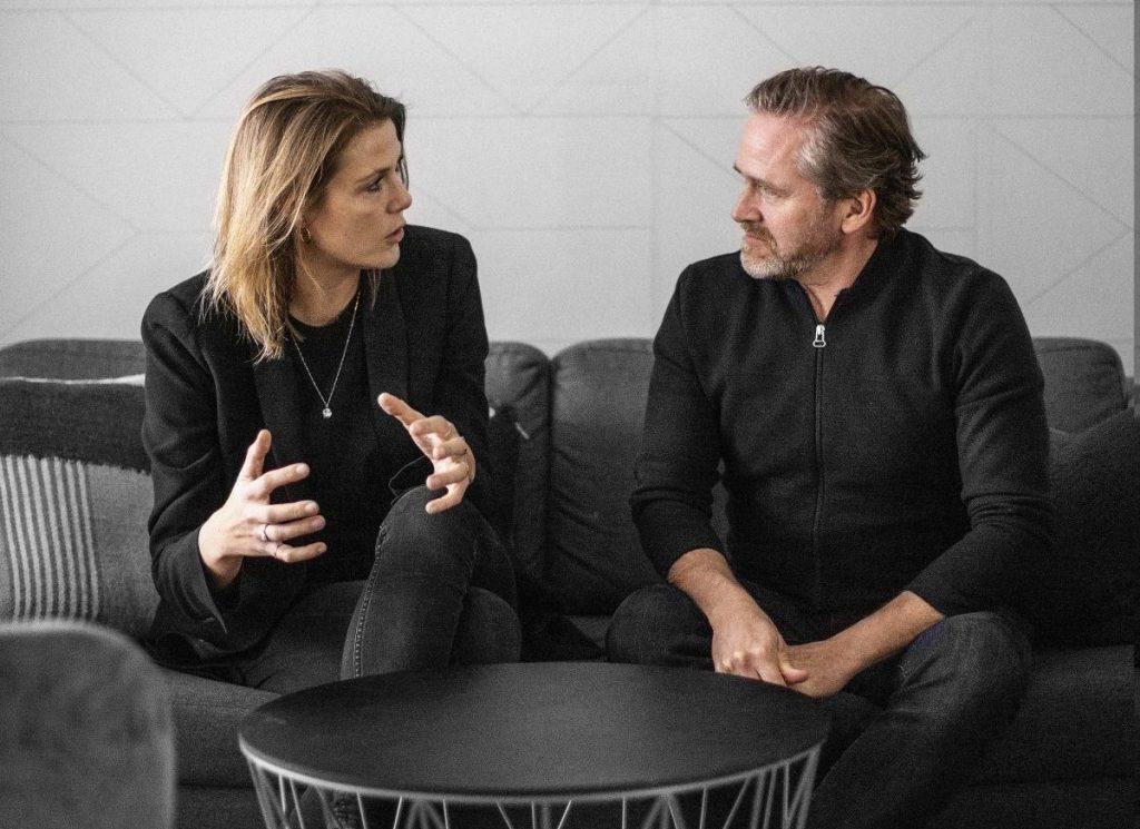 Le Gammeltoft og Anders Samuelsen