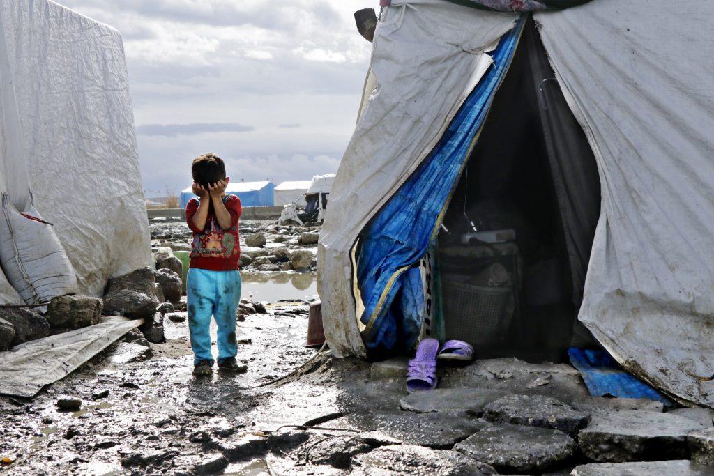 Syrien flygtningedreng