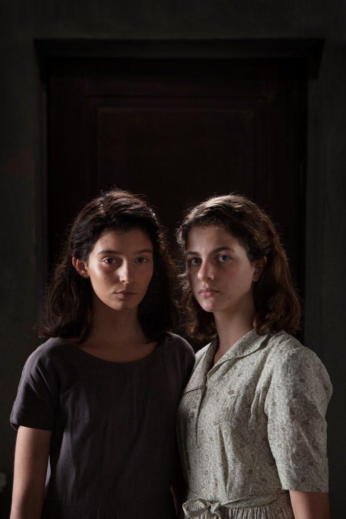 Gaia Girace Lila and Margherita Mazzucco Elena