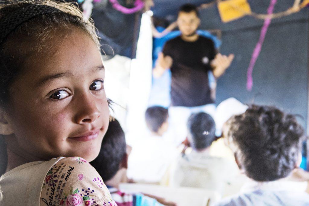 Syrisk flygtningepige