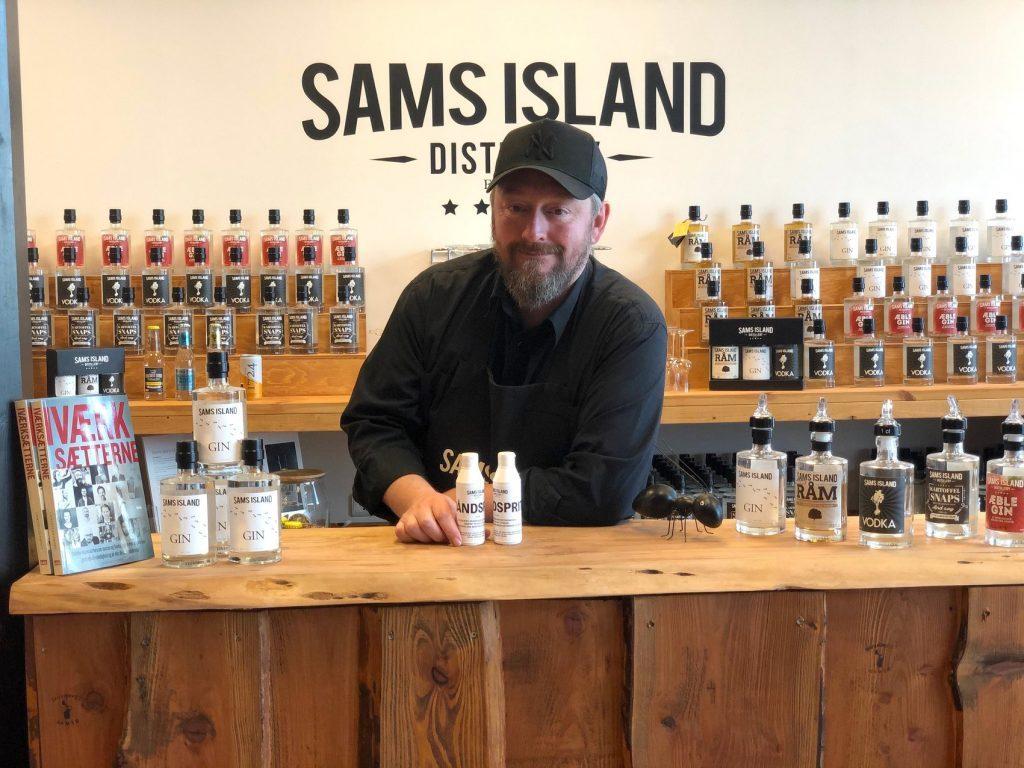 Sams Island håndsprit